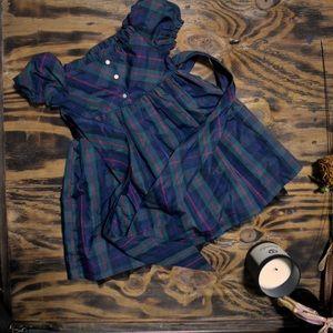 American Living Plaid Lined Kid's Dress